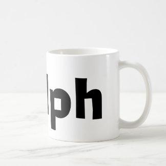 Ralph Classic White Coffee Mug