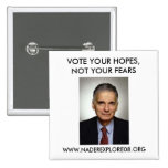 RALPH NADER 08 2 INCH SQUARE BUTTON