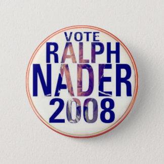Ralph Nader 2008 Button
