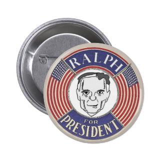 Ralph Nader 2012 button