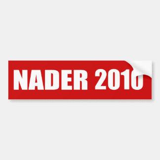 RALPH NADER Election Gear Car Bumper Sticker