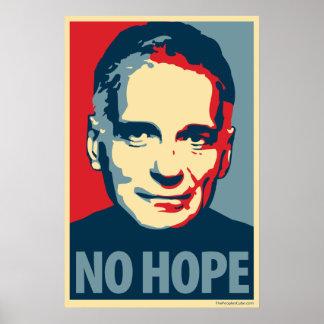 Ralph Nader - ninguna esperanza: Poster de OHP