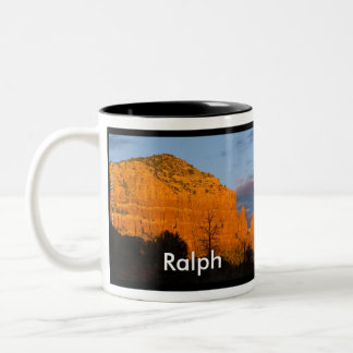 Ralph on Moonrise Glowing Red Rock Mug