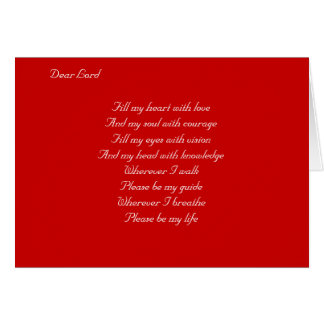 Ralph Staples-Prayer religious Stationery Note Card