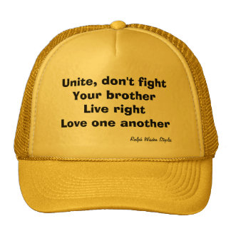 Ralph staples quotes trucker hat