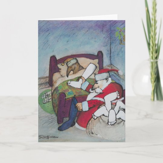 Ralph Steadman Christmas Card