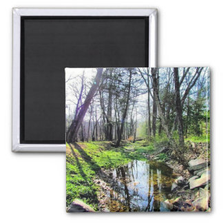Ralph Stover Park 2 Inch Square Magnet