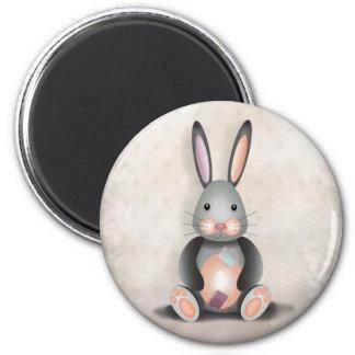Ralph the Patchwork Rabbit - Magnet