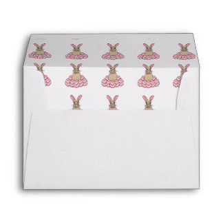 Ralph the Rabbit Happy Easter Envelope