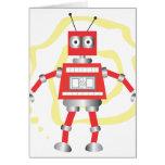 Ralph the Red Robot Card