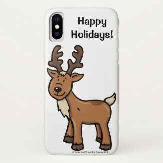 Ralph the Reindeer Apple iPhone Case