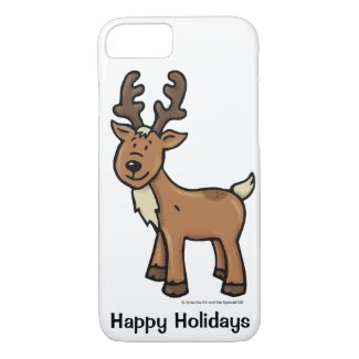 Ralph the Reindeer iPhone 8/7 Case