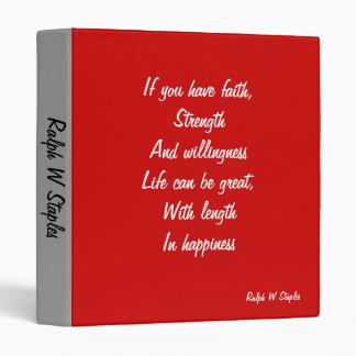 Ralph W staples quotation binders