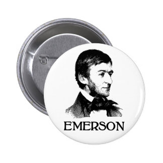 Ralph Waldo Emerson 2 Inch Round Button