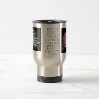 Ralph Waldo Emerson Chrysanthemum Mug