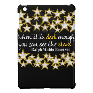 Ralph Waldo Emerson Inspirational Life Quotes Gift iPad Mini Case