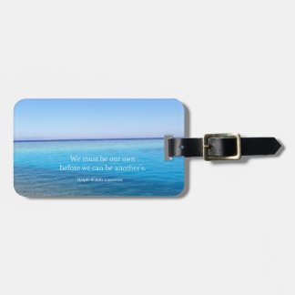 Ralph Waldo Emerson love quote Tags For Luggage