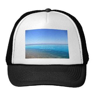 Ralph Waldo Emerson love quote Trucker Hat