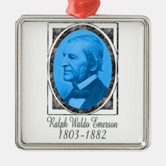 Ralph Waldo Emerson Metal Ornament