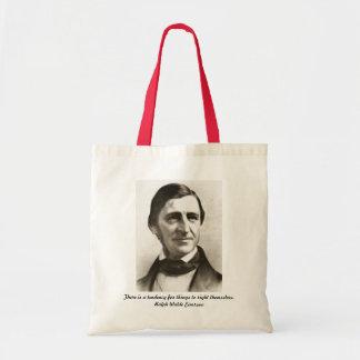 Ralph Waldo Emerson Portrait Tote Bag