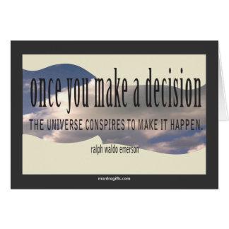 Ralph Waldo Emerson Quotation Card