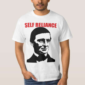 "Ralph Waldo Emerson ""SELF RELIANCE"" shirt"