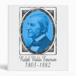 Ralph Waldo Emerson Vinyl Binders