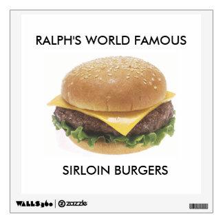 Ralph's World Famous Sirloin Burgers Wall Sticker