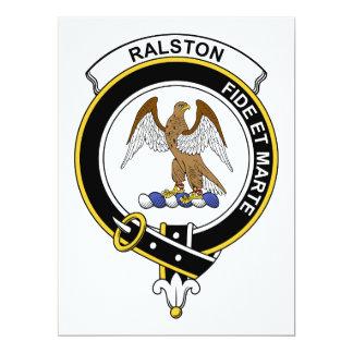 Ralston Clan Badge Card