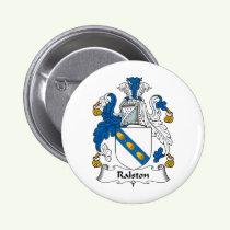 Ralston Family Crest Button