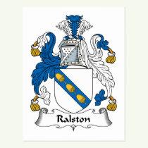 Ralston Family Crest Postcard