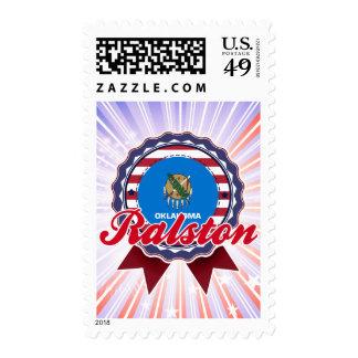 Ralston, OK Stamp