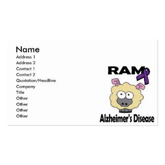 RAM Alzheimers Disease Business Cards