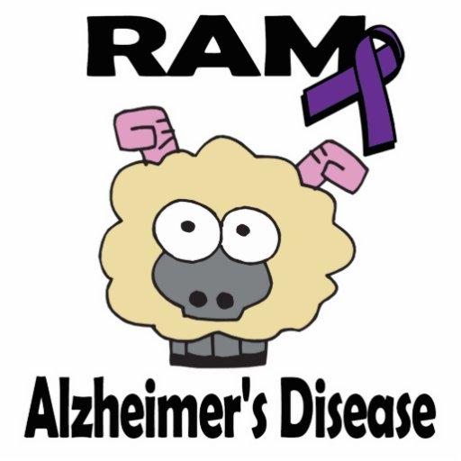 RAM Alzheimers Disease Cut Out