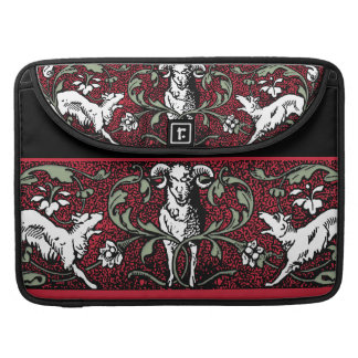 Ram and Wolves Sleeve For MacBook Pro