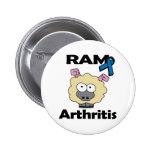 RAM Arthritis Pinback Buttons