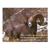 Ram bible verse postcard
