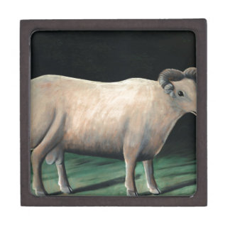Ram by Niko Pirosmani Keepsake Box