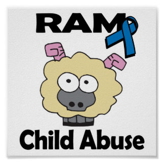 RAM Child Abuse Poster