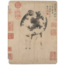 Ram Chinese Painting Chinese New Year Zodiac iPad iPad Smart Cover