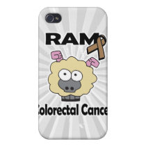 RAM Colorectal Cancer Case For iPhone 4