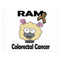 RAM Colorectal Cancer Postcard