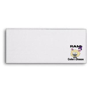 RAM Crohns Disease (purple) Envelope