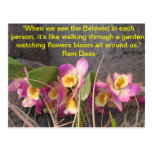 Ram Dass Quote Post Card