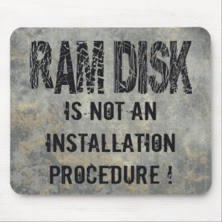 Ram Disk Mouse Pad