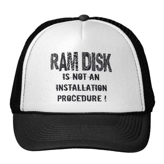 Ram Disk Trucker Hat