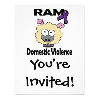 RAM Domestic Violence Personalized Invitations