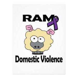 RAM Domestic Violence Personalized Announcement
