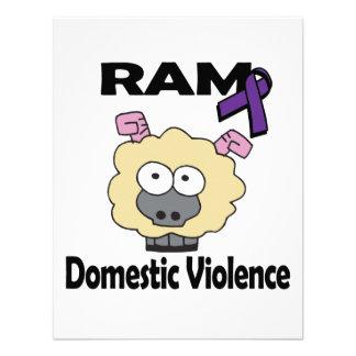 RAM Domestic Violence Custom Invites