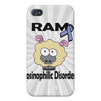 RAM Eosinophilic Disorders Covers For iPhone 4